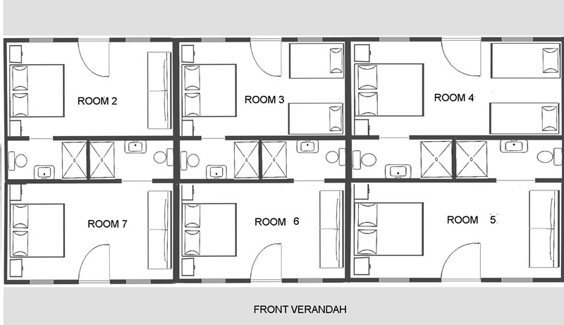 Guesthouse_room_layouts___decor on House Building Plans